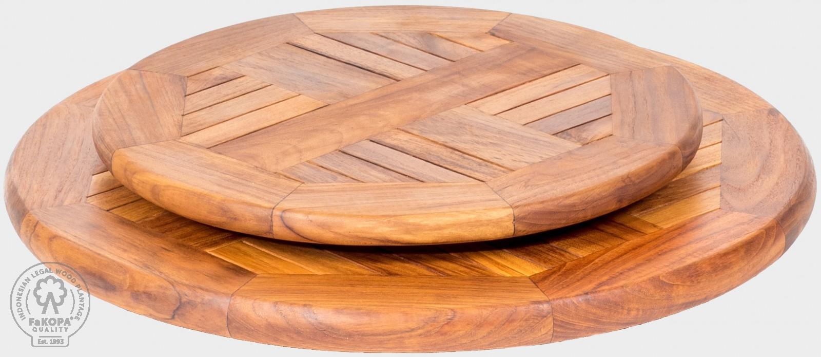 otočný stolek z teaku
