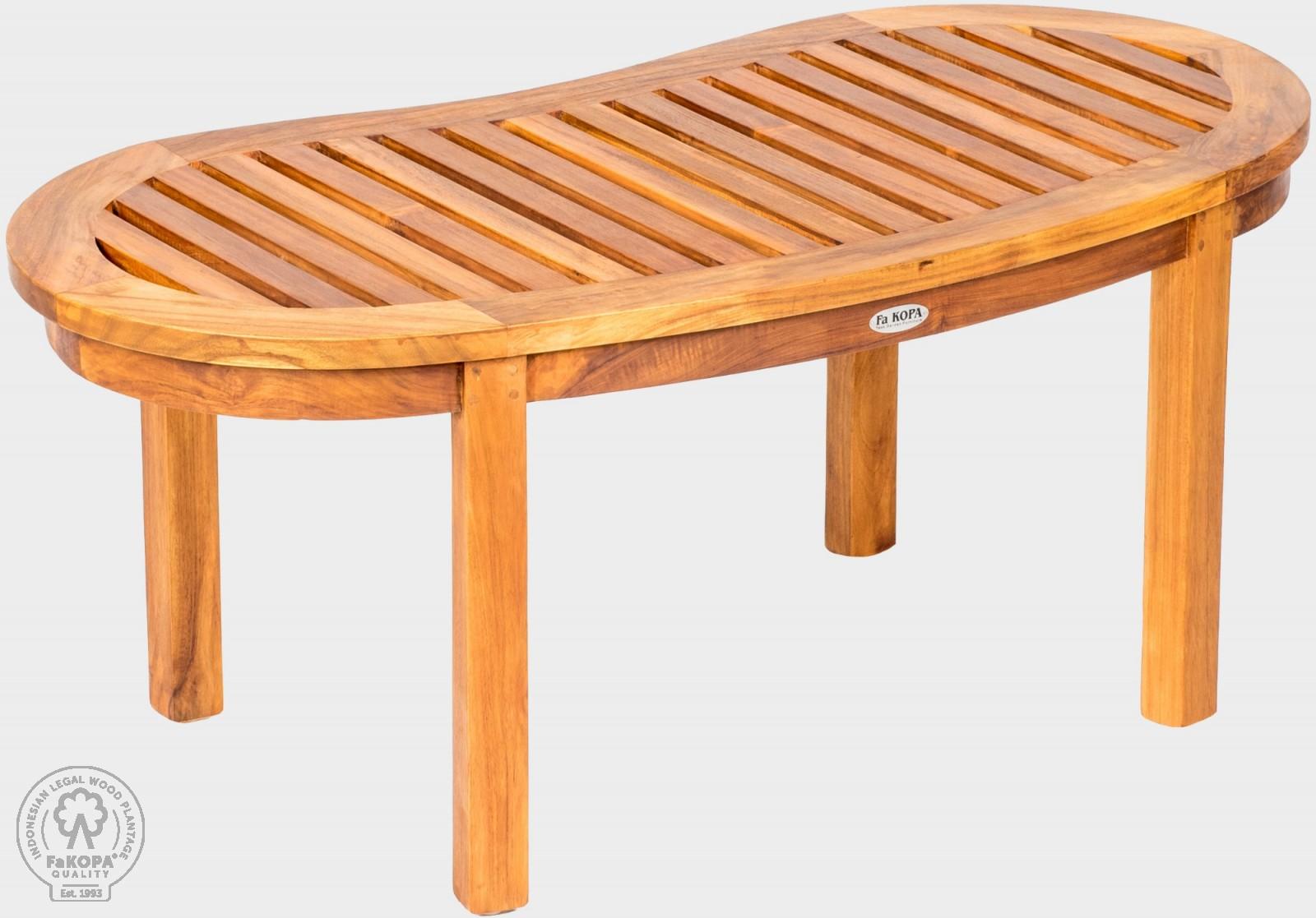 stolek z teaku