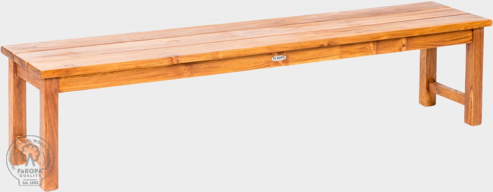 lavice z teaku