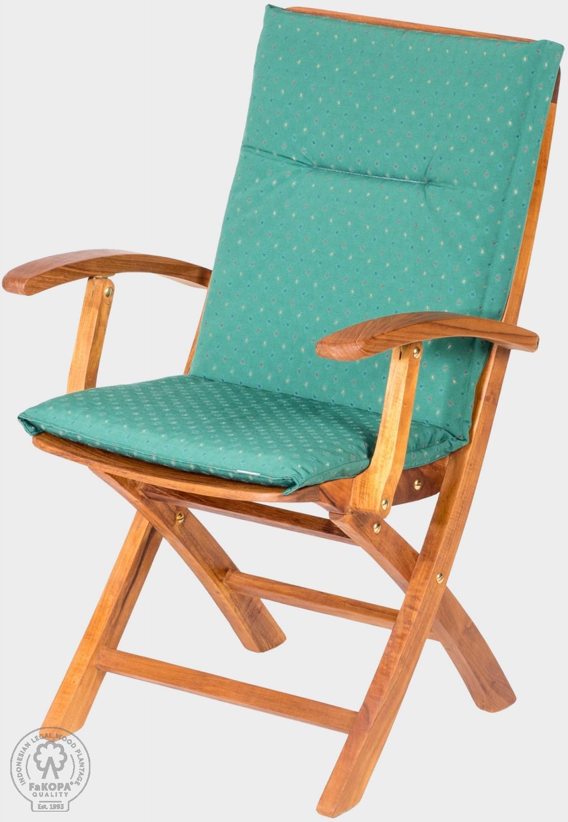 polstr na nábytek zelený