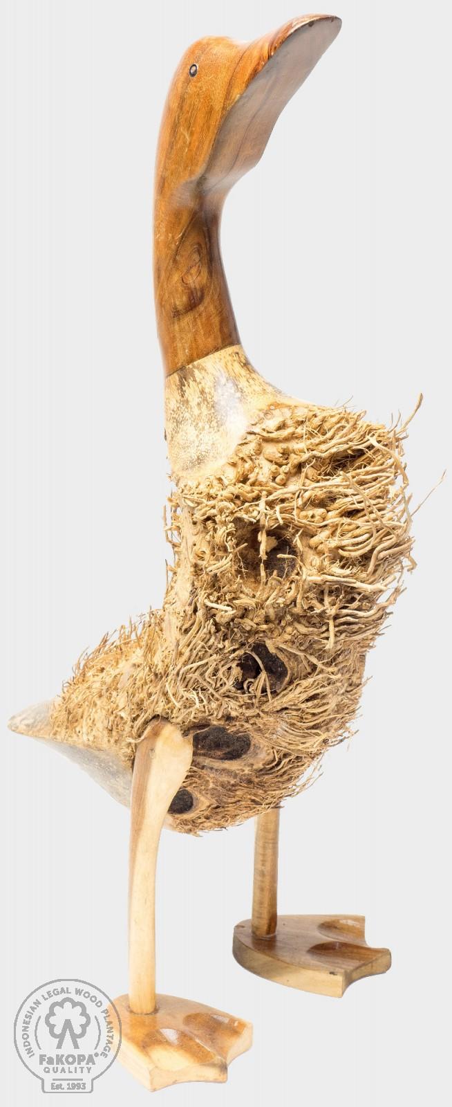 kachna malá z tropického dřeva